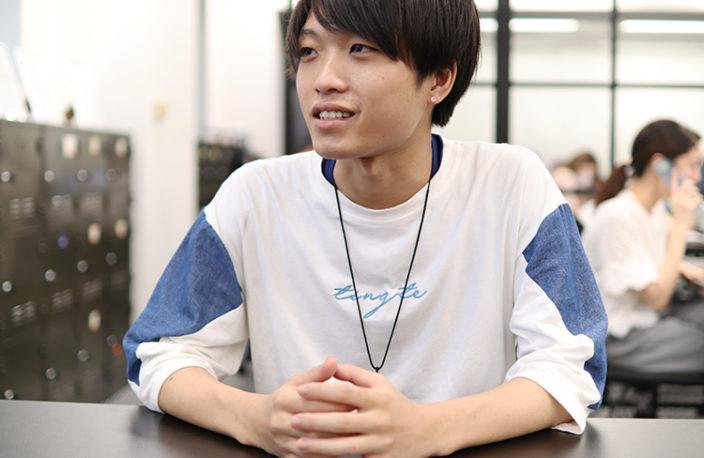 「無料エンジニア体験会」で、エンジニアの仕事に興味を持ちました。佐藤敦の写真