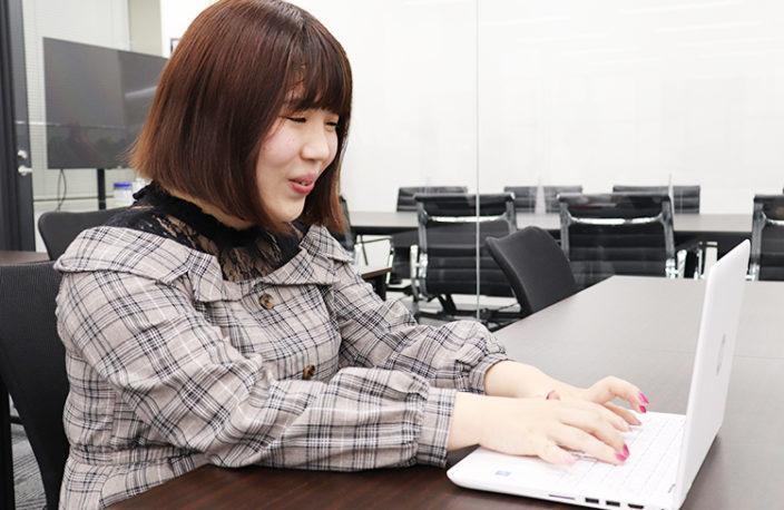ネットだけ見ていても、何もわからない。転職するならまずはアクションを起こして。/椎名詠美の写真